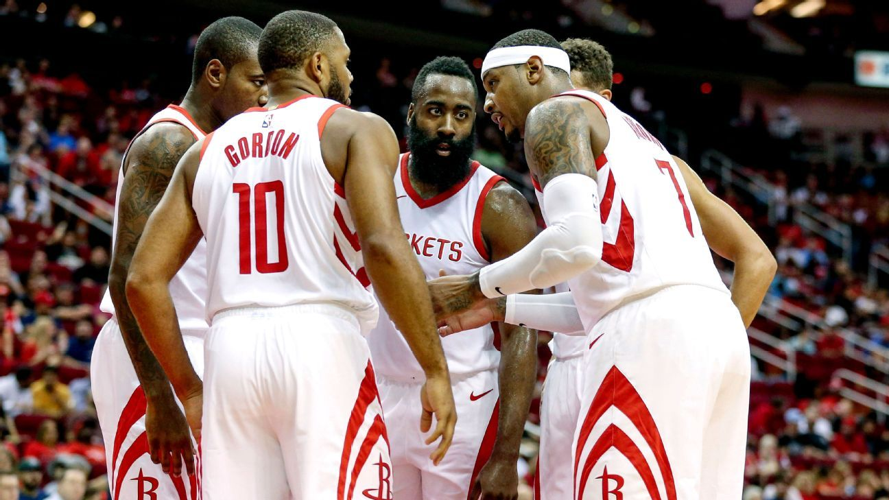 'We'll see how it fits': According to the data on Melo and the Rockets, it just doesn't