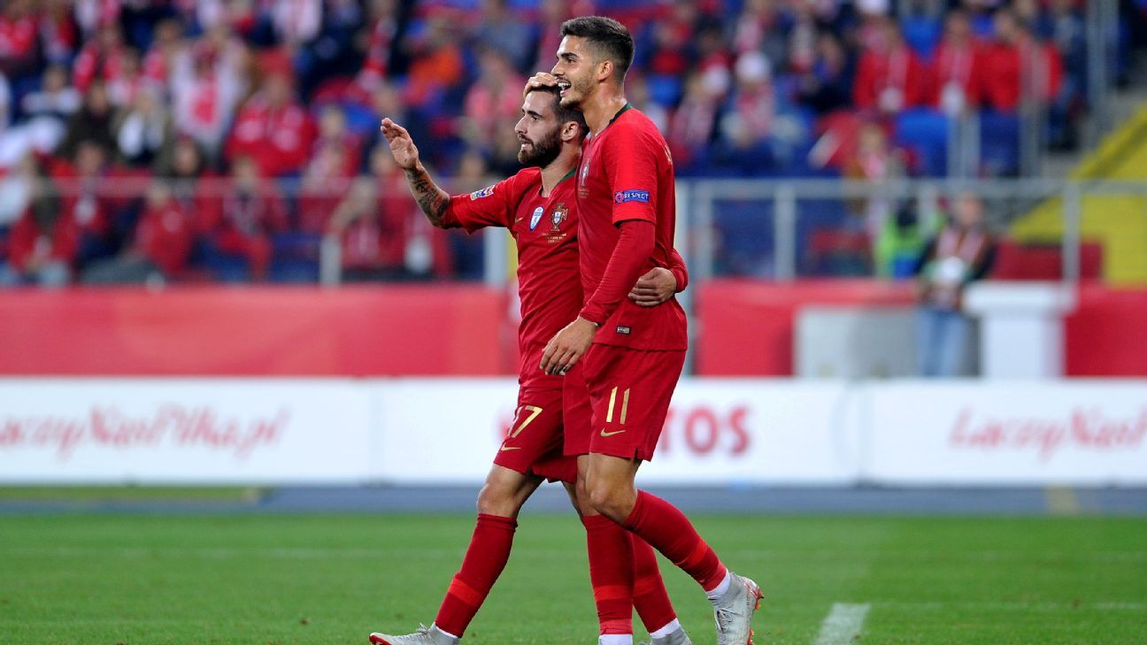 Portugal atop Nations League group after away win against Poland