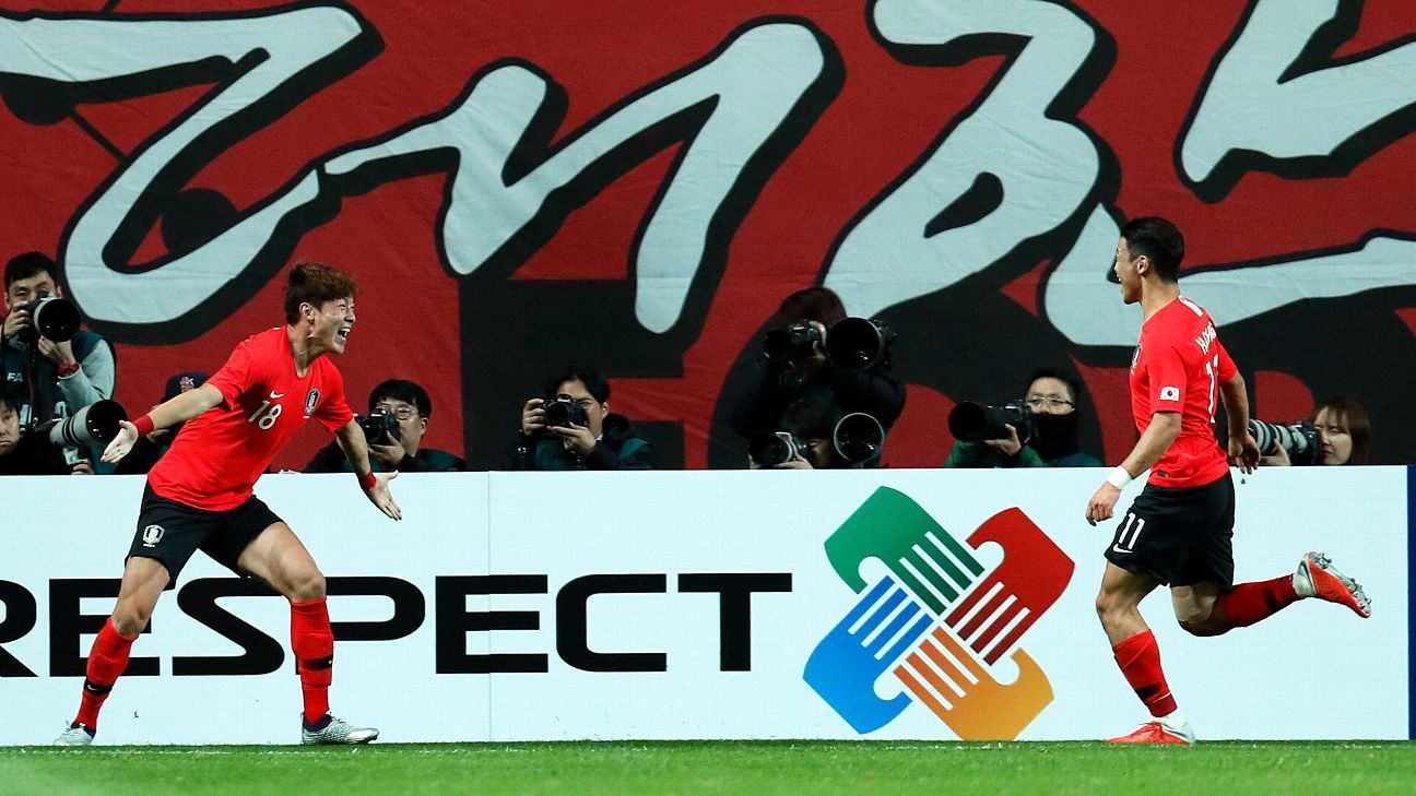 South Korea edge past Uruguay thanks to Jung Woo-Young winner