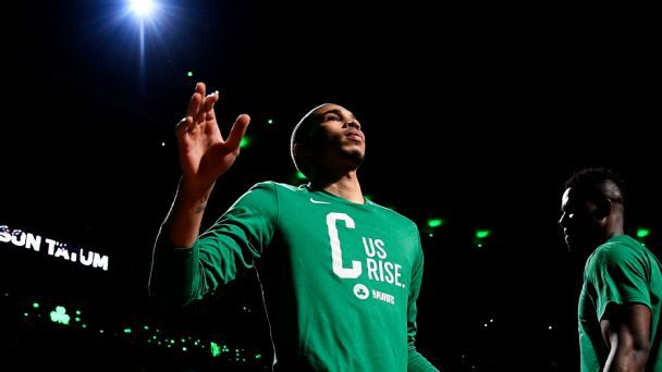 Thrust into the spotlight, Boston's Jayson Tatum is ready for prime time