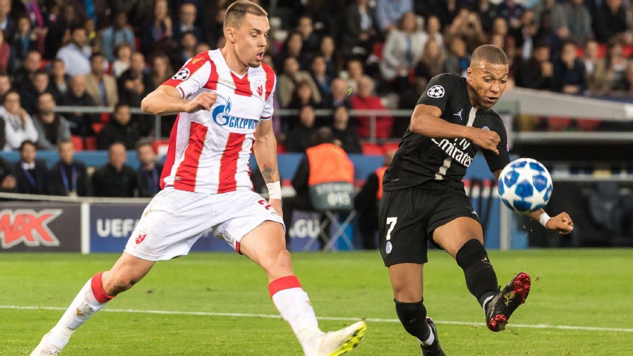 Estrella Roja y PSG niegan arreglo en Champions