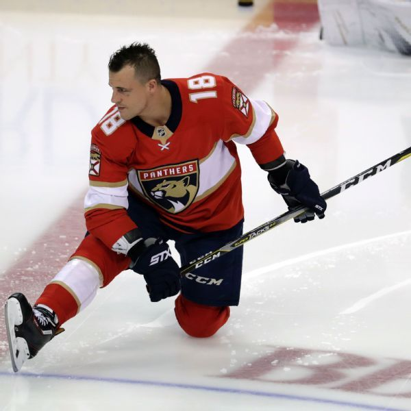 Panthers' Micheal Haley out indefinitely after entering NHL/NHLPA assistance program
