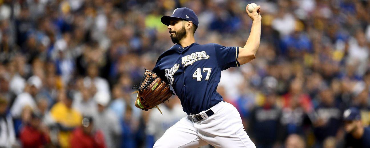 SCLN: Gio González vuelve a la lomita en el juego 4, Hill lanzará por Dodgers