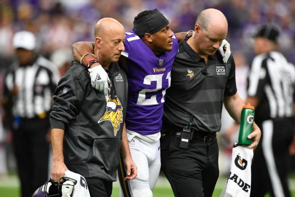 Vikings confirm CB Mike Hughes out for season with torn ACL