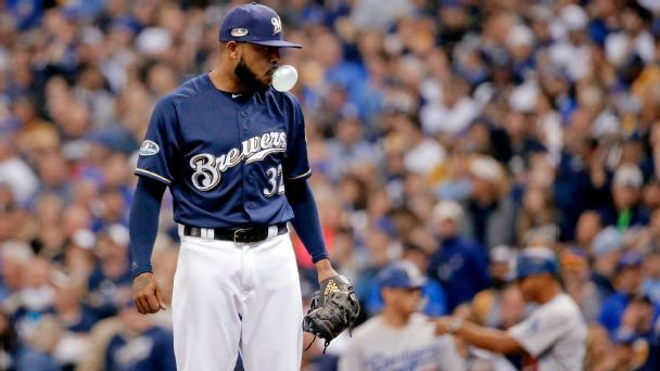 Brewers need bullpen to revert to its dominant form