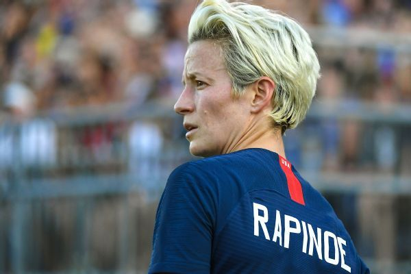 U.S.'s Megan Rapinoe: FIFA doesn't 'truly care' about women's soccer