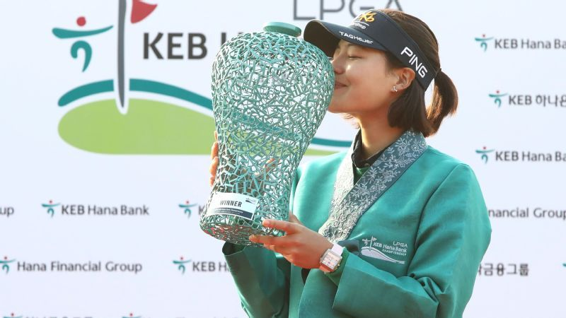 After experiencing the dark side of golf obsession in South Korea, In Gee Chun tastes sweet success