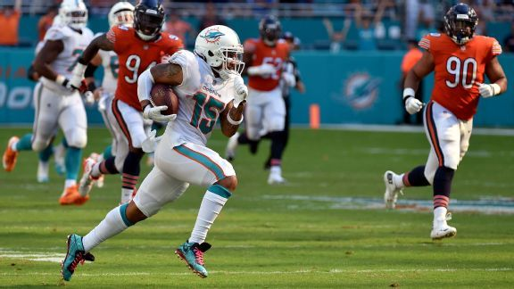 'Best YAC receiver' Albert Wilson lights fuse for Dolphins offense
