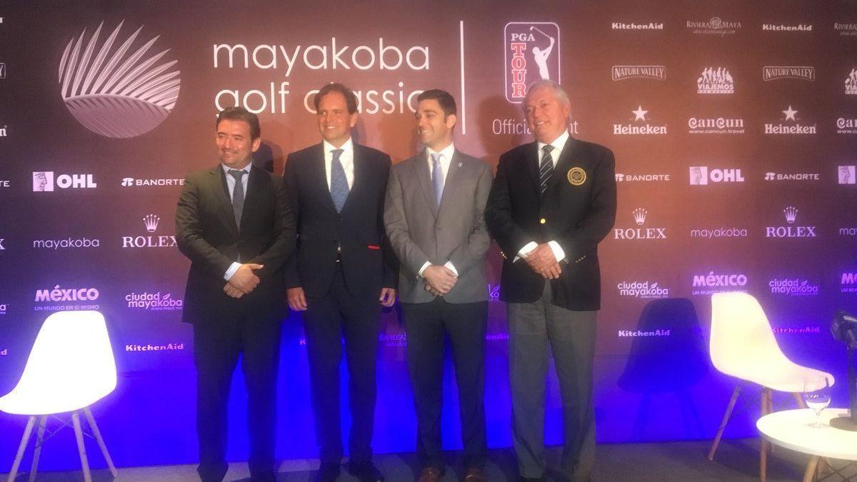 Mayakoba Golf Classic será histórico por participación de 7 mexicanos