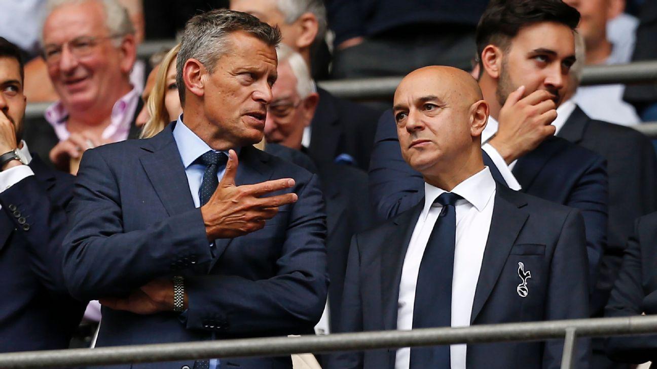 Tottenham stadium costs didn't affect summer transfer policy - Daniel Levy