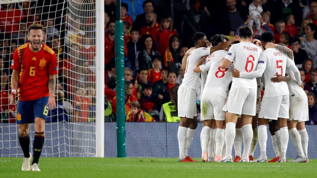 Inglaterra redobla su confianza con triunfo ante España, dice Southgate