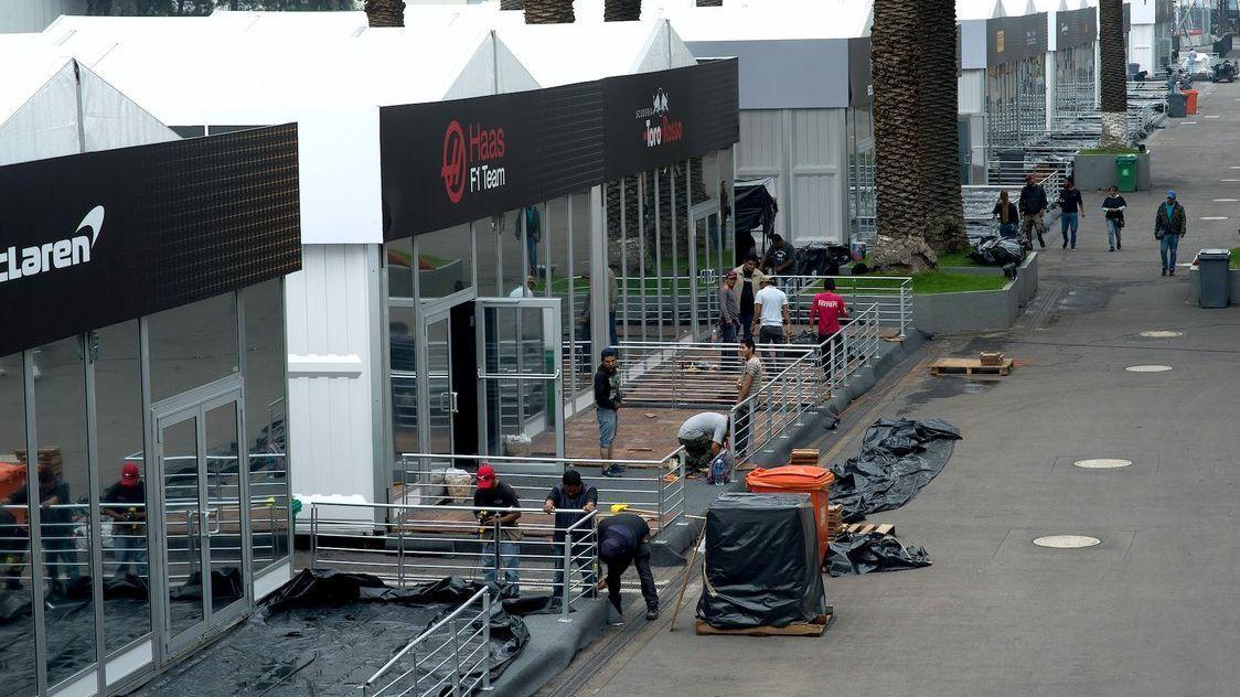 Siguen preparativos para recibir a la F1 en México
