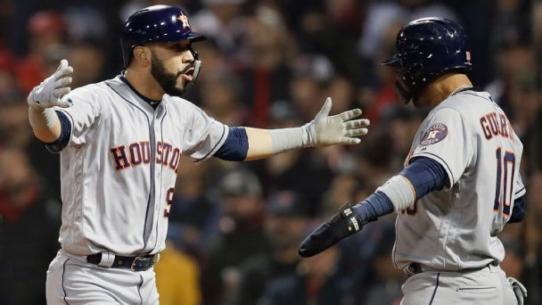Role players give Astros pop through the lineup, championship edge
