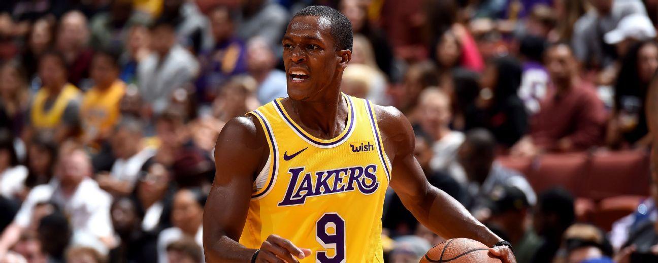 Rajon Rondo desea dejar huella en rivalidad Celtics-Lakers con títulos con ambos equipos