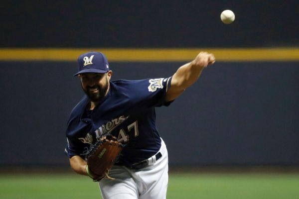 Brewers to start Gio Gonzalez in Game 4, then Wade Miley on short rest