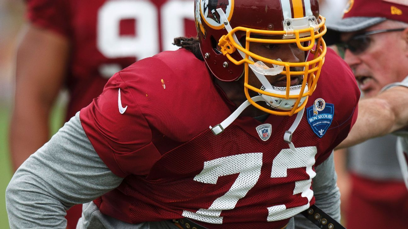 Washington Redskins se plantean cortar al veterano Ziggy Hood
