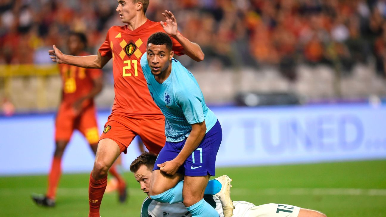 Arnaut Groeneveld scores first for Netherlands in draw with Belgium