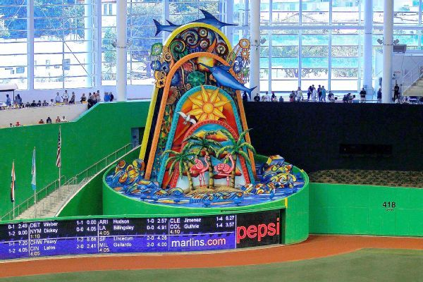 Board approves plan to move home run sculpture outside Marlins Park