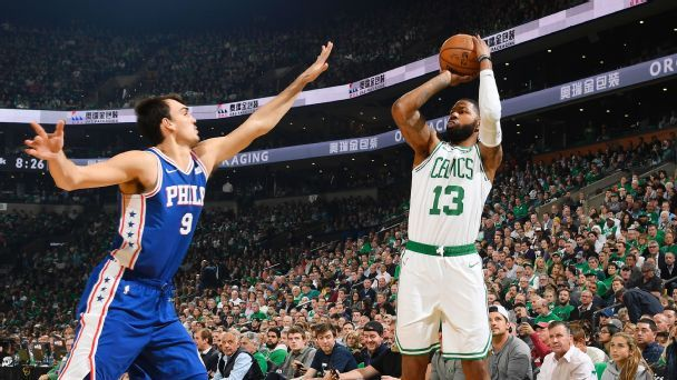 Bench mob spells difference for Celtics in win over Sixers