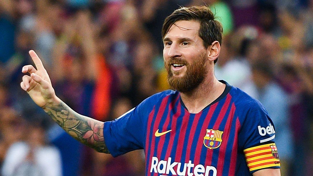 Messi, el mejor jugador de La Liga en septiembre