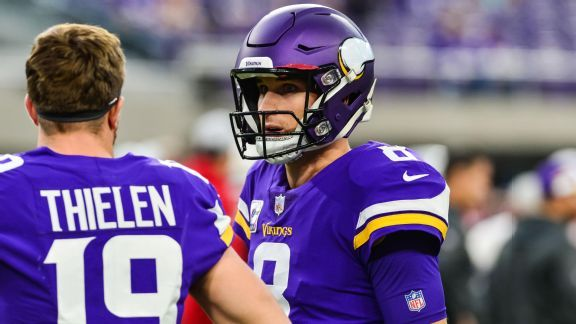 Better together: Cousins, Thielen emerge as NFL's top QB-WR duo