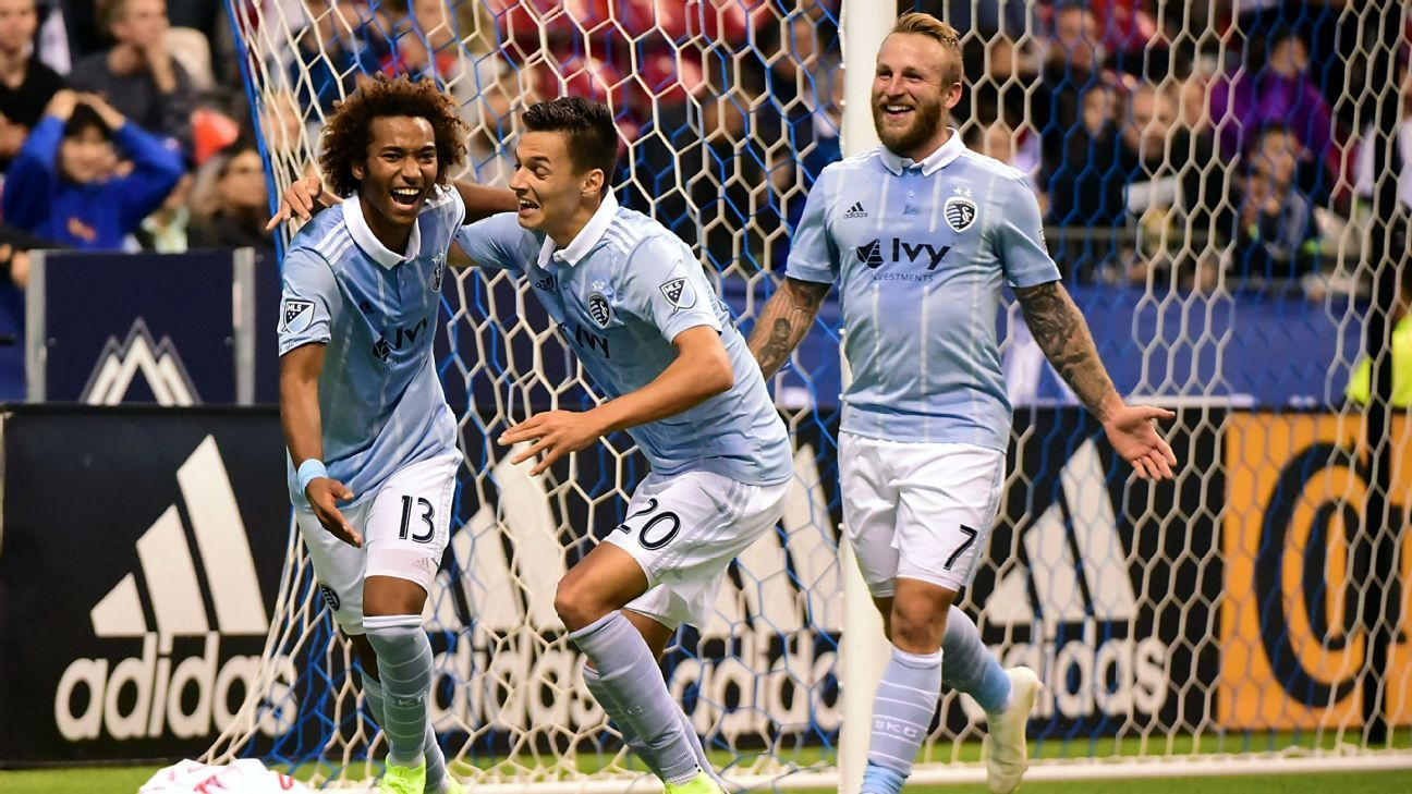 Daniel Salloi scores twice as Sporting Kansas City dumps Vancouver