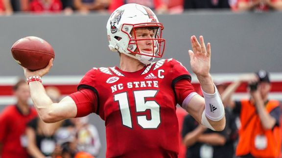 Ryan Finley isn't wasting any of his extra time at NC State