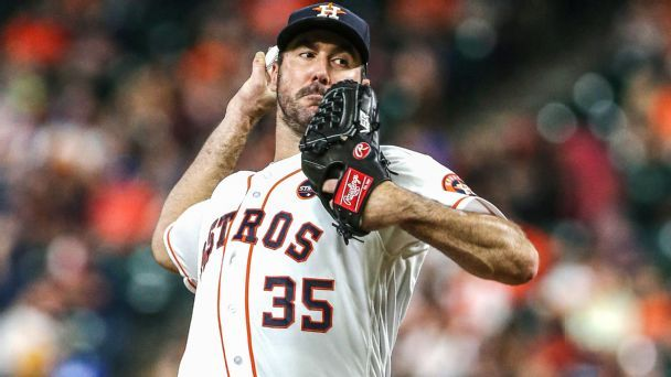 Astros turn to Justin Verlander with their season on the line