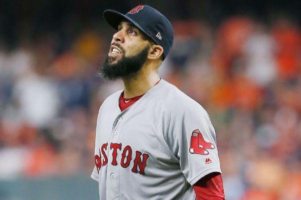 Red Sox confirm David Price to start Game 2 of World Series
