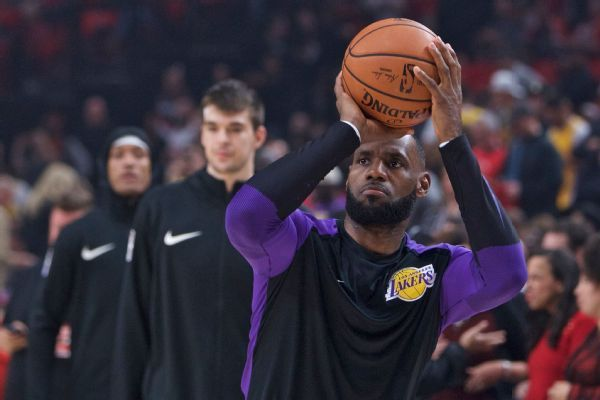 LeBron James debuts for Lakers, 'looking forward' to challenge