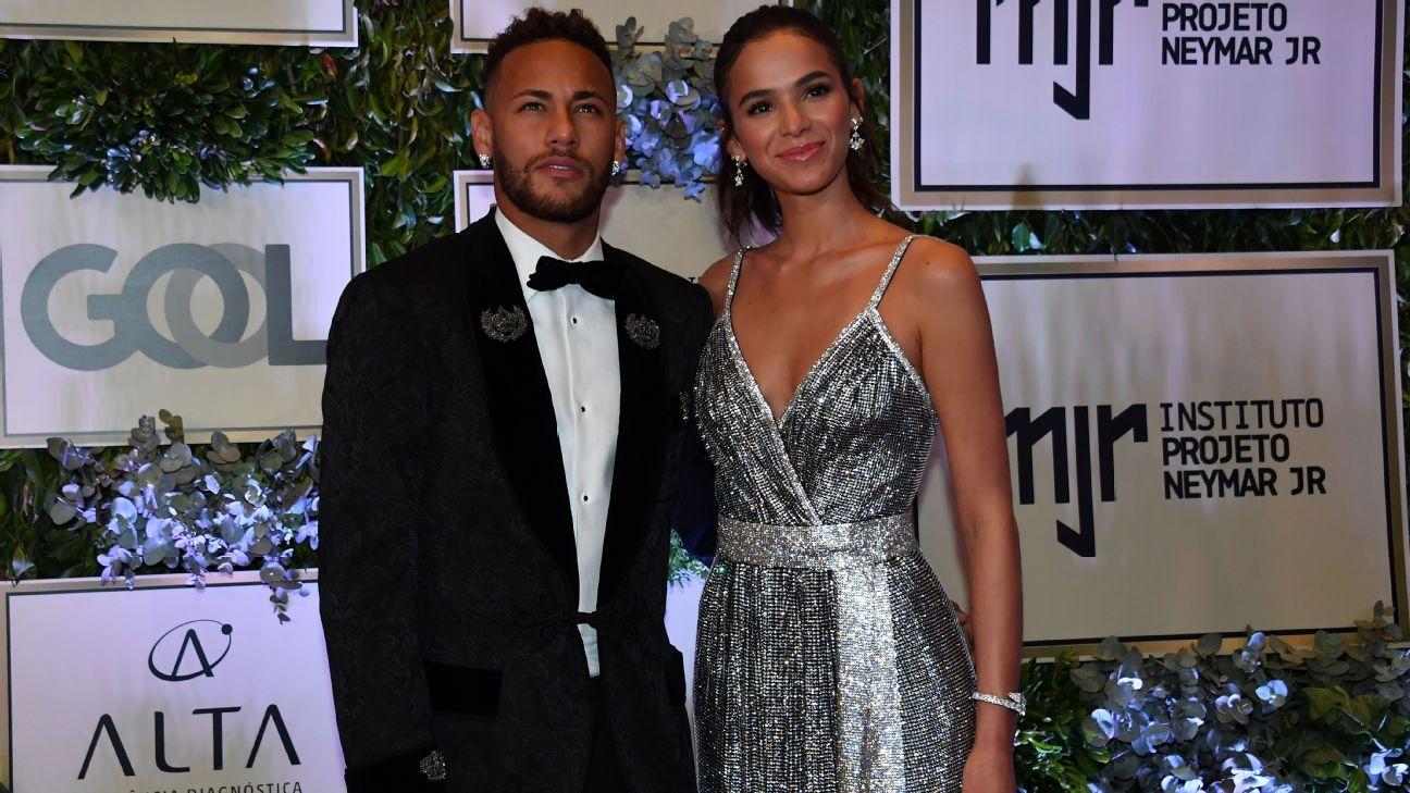 Neymar y la actriz Bruna Marquezine terminan su noviazgo otra vez