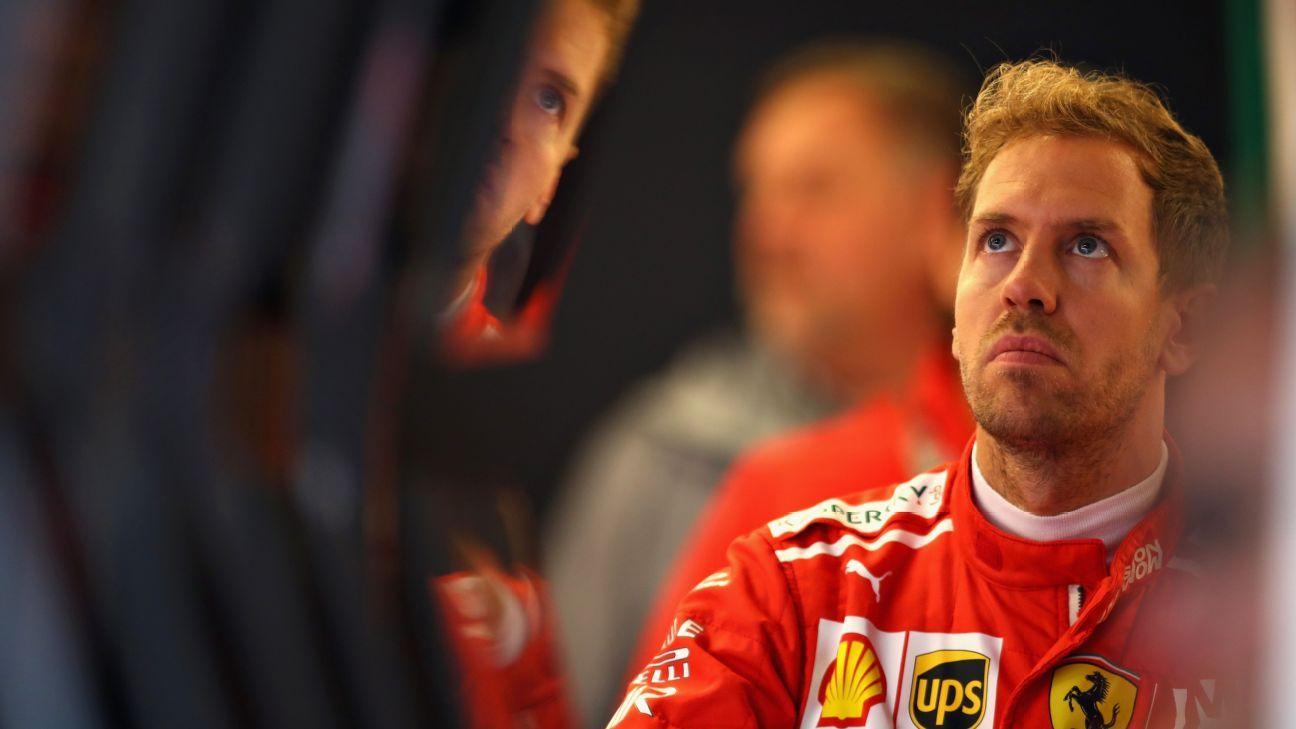 Vettel sancionado con tres posiciones en la parrilla de salida