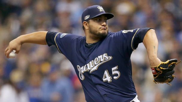 Looking for a Game 7 hero? Start with Jhoulys Chacin