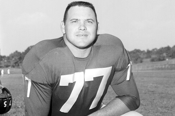 Dick Modzelewski, star tackle for Giants, dies at 87