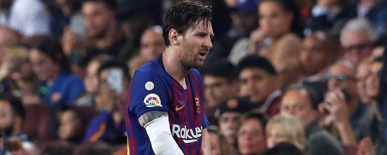 Abrázame hasta que vuelva Messi...