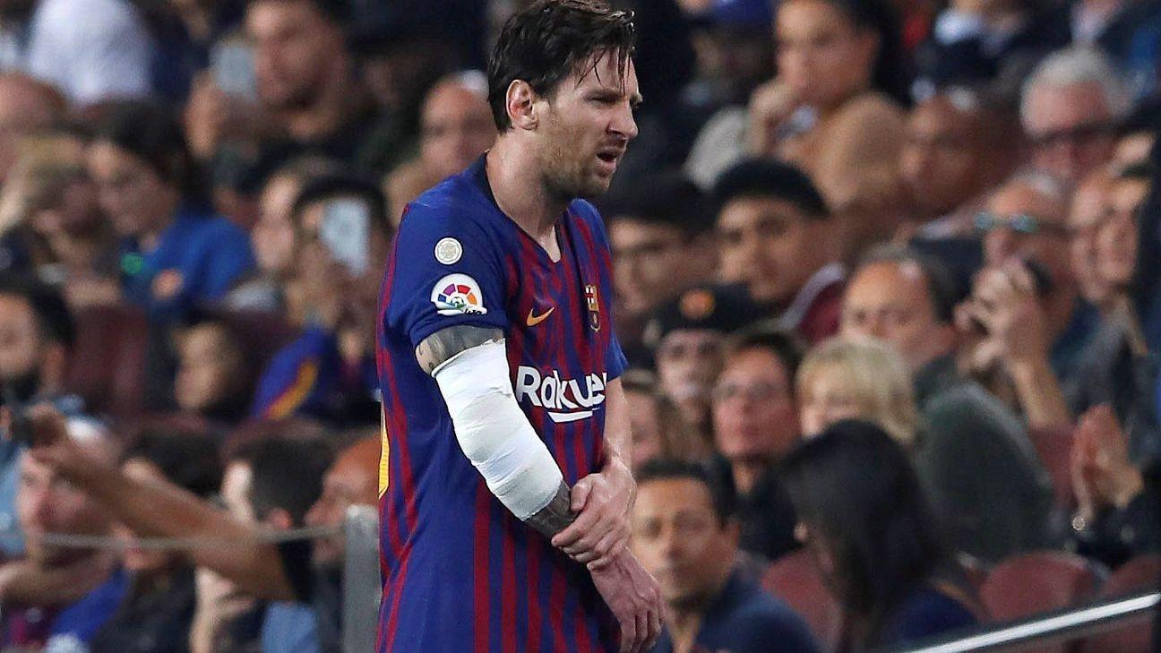 Lionel Messi se pierde el Clásico; tres semanas fuera de actividad