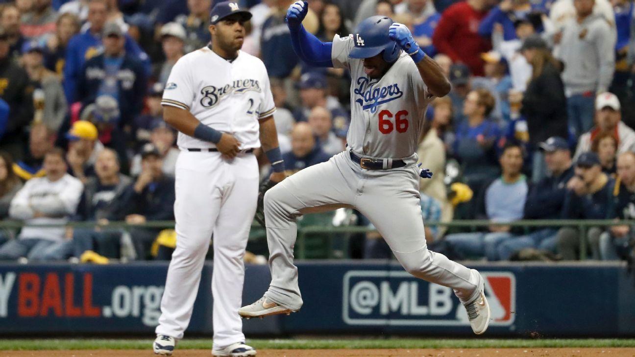 Jonrones de Puig y Bellinger ponen a Dodgers en la Serie Mundial