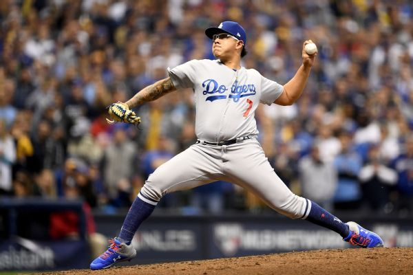 Julio Urias pitches with heavy heart, helps Dodgers reach World Series