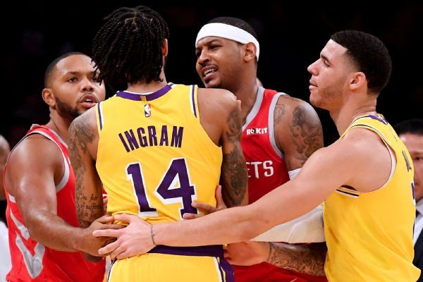 Lakers' Brandon Ingram expected longer than four games
