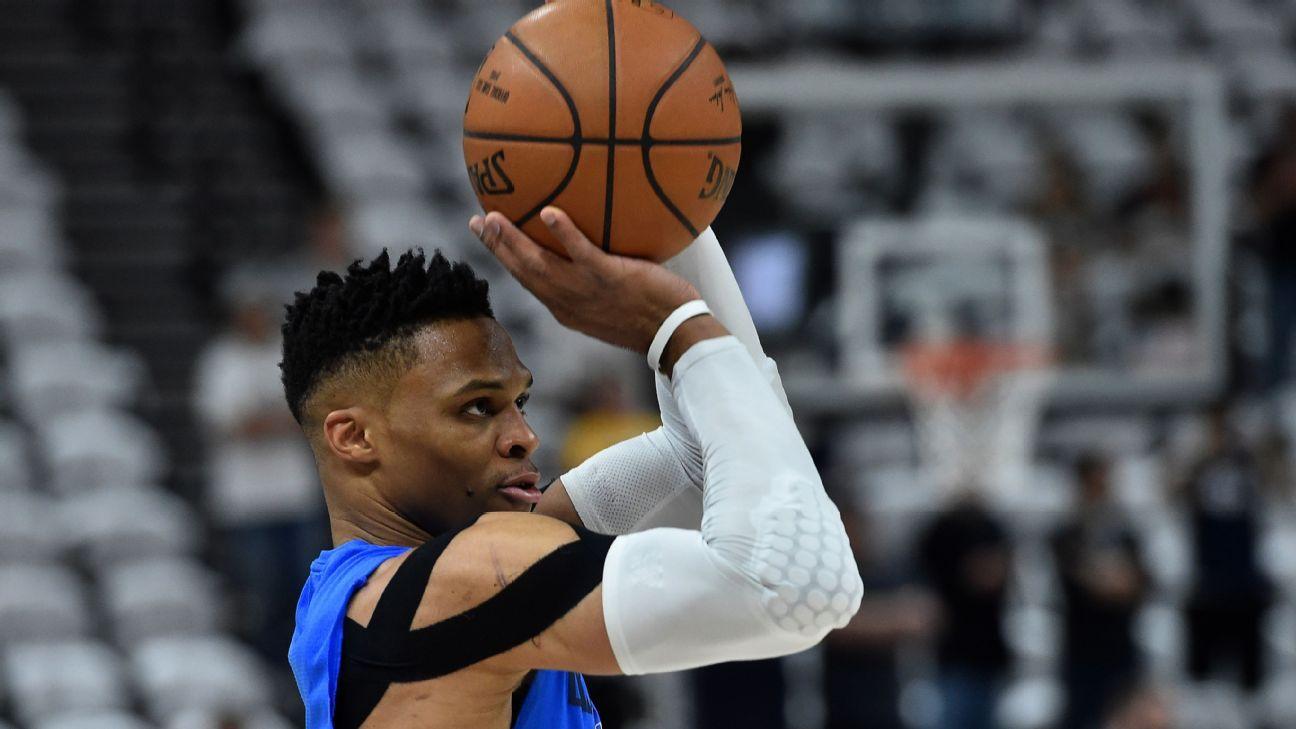 Westbrook debutará esta temporada ante los Kings