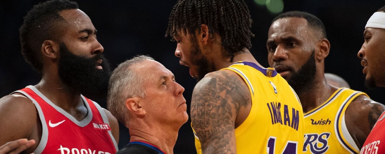 NBA suspende a Ingram 4 juegos, Rondo, 3 y CP3, 2