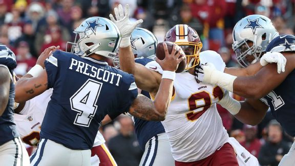 First-place Redskins' approach at stopping Ezekiel Elliott works