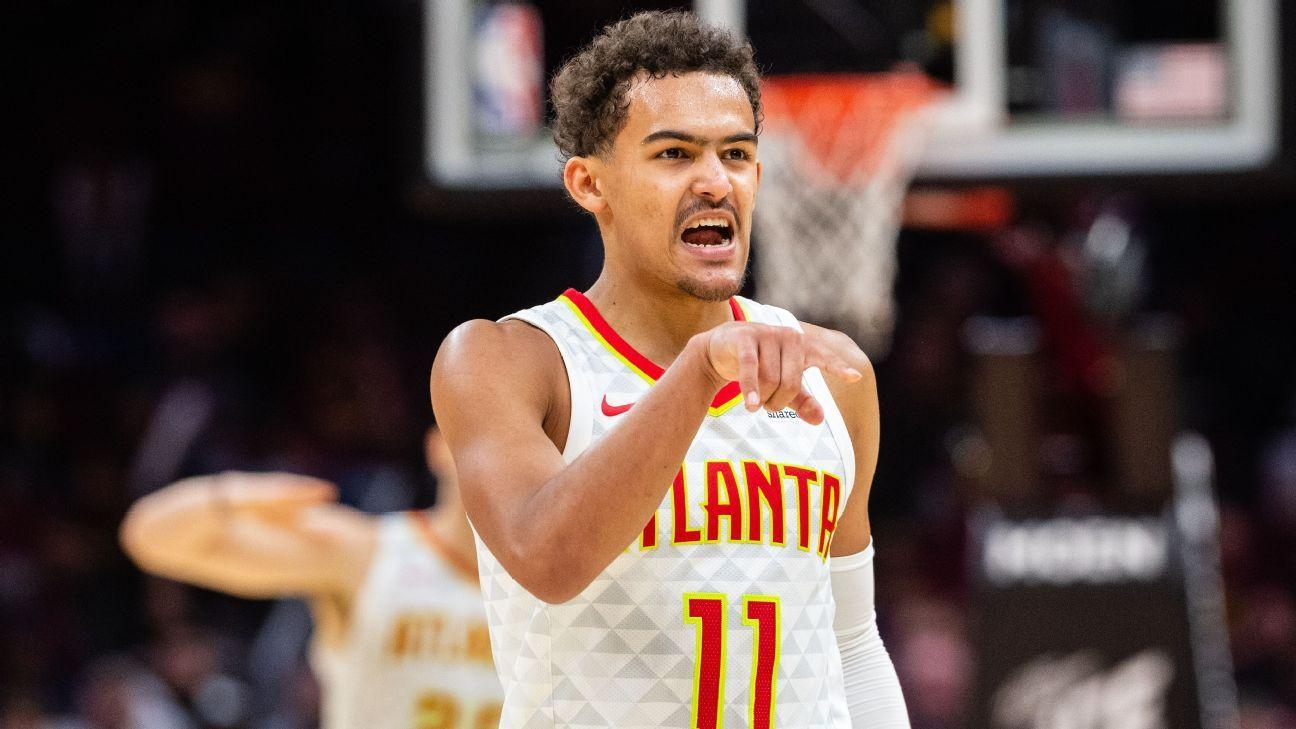 Hawks: Novato Young anota 35 puntos vs Cavs