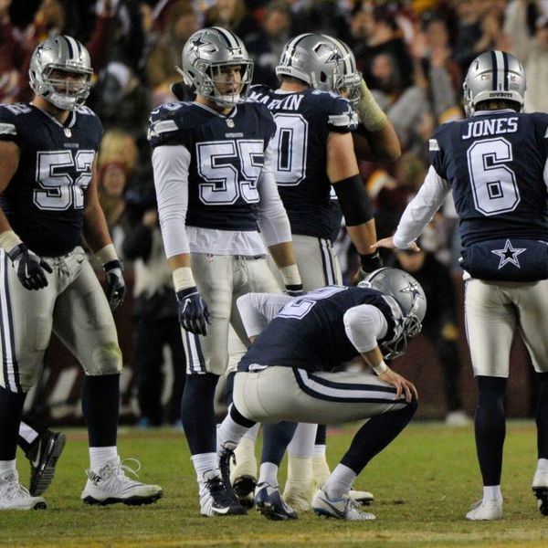 Cowboys shocked by rare call that pushed back potential game-tying FG