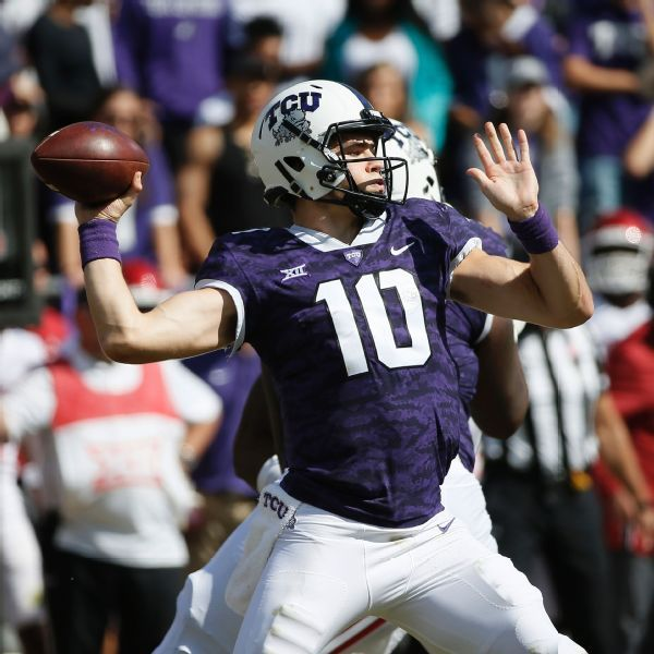 Michael Collins takes reins as TCU QB; Shawn Robinson having surgery