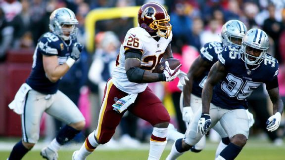 Adrian Peterson's impact extends beyond numbers for Redskins