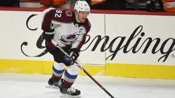 Gabriel Landeskog is the best player in the world of the week