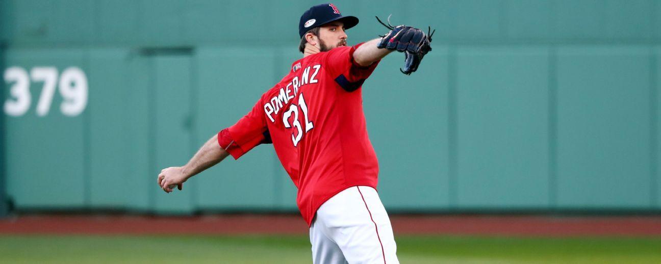 Red Sox incluyen a Pomeranz en el roster; los Dodgers agregan a Alexander