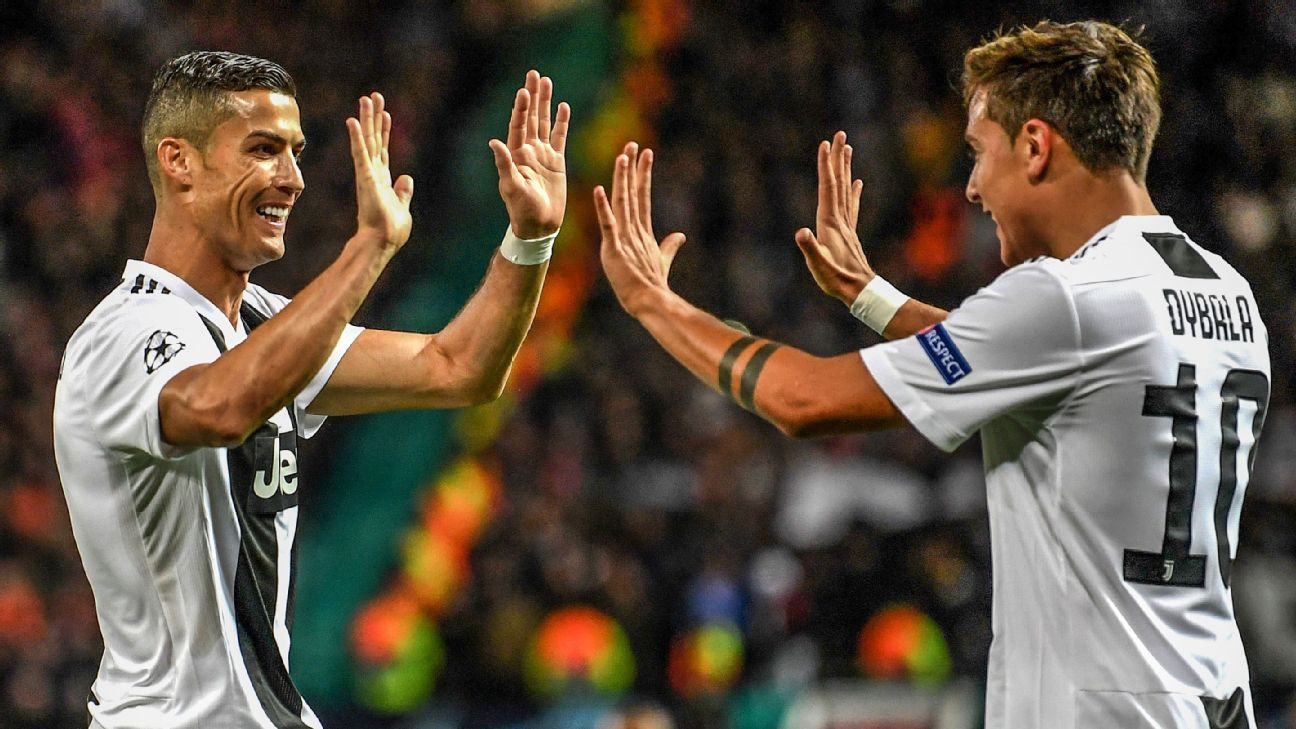 Juventus wrap up easy win thanks to Paulo Dybala as Man United fail to spark