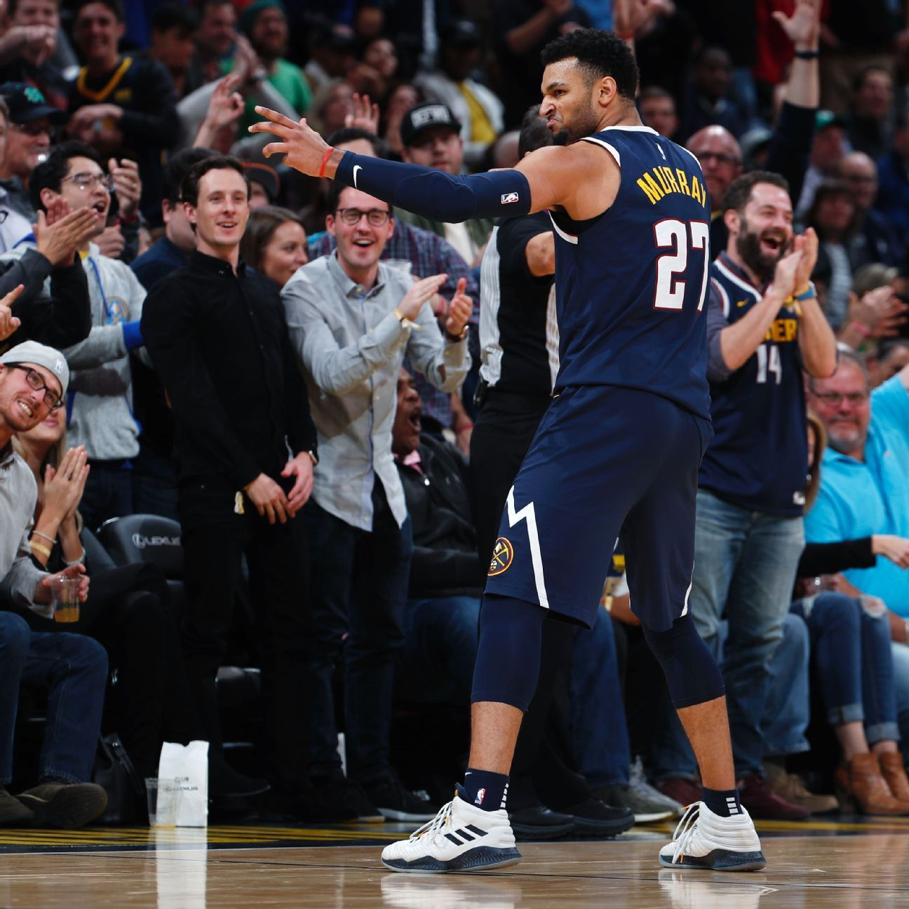 Kyrie Irving Of Boston Celtics Cries Foul Over Jamal Murray's Shot At End For 50